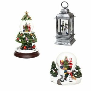 Sigro Weihnachten Schneekugel, Santa, XXL Weihnachtsbaum, Laterne, Schneemann
