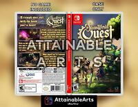 STEAMWORLD QUEST - Custom Cover/Game Case (Switch, 2019) - NO GAME INCL