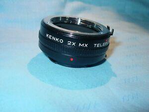 KENKO  MX    MC 4     2 x Telekonverter  für Minolta