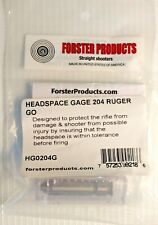 Forster Products 204 Ruger Go Headspace Gage New