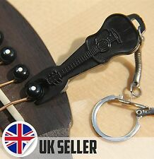 Acoustic guitar bridge pin puller keychain ring réparation outil