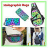 √Luminous Holographic Color Changes Flash Reflective Crossbody Bag Fashion Bag