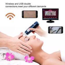 Microscopio USB WIFI Digitale 200X LED Cuoio Capelluto Capelli Skin Analizzatore
