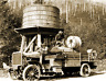 "1924 US Forest Service Fire Truck, WA Vintage Old Photo 8.5"" x 11"" Reprint"