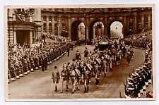 Postcard- Coronation Souvenir - Queen Elizabeth II  Admiralty Arch London -used