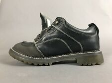 Leather Dickies Steel Toe Safety Work Shoes Lace Up Black 9 Mens Black WD2170