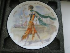 Daisy 1925 D'Arceau Limoges France Collector Plate Women Century Ganeau 1977 I