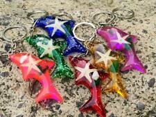 12pc wholesale lot insect jewelry sea star dolphin style key-chains hs001