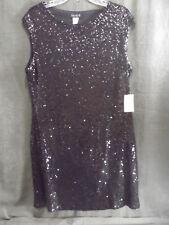 NWOT VENUS Cocktail Dress, Black, Beaded, XL