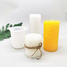 DIY Silikon Schimmel Kerzenformen Rund Mold Diamond Soap Clay Plaster Art Craft