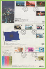 Hong Kong 1983/1985 Collection of six First Day Covers. Cat as used £75+