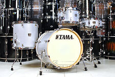 Tama Superstar Classic Maple 4pc Jazz Drum Set White Sparkle - Blowout!