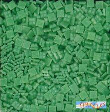 MOSAICO -Tessere mosaico pasta vetro 1x1 cm - 1 kg/1500 pz - Verde chiaro