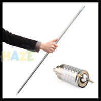 Silver Metal Appearing Cane Wand Stick Stage Magic Trick Gimmick telescopic Fun
