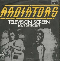 """The Radiators From Space - Television Screen (7"""" Vinyl-Single Germany 1977)"""