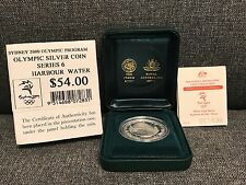 SYDNEY 2000 $5 OLYMPIC HARBOUR WATER Series 6 Silver Proof Coin