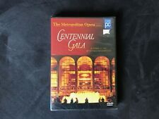Metropolitan Opera - Centennial Gala (DVD, 1999)  New & SEALED Free Shpg & Insur