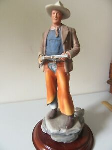 John Wayne Collection Glass Globe Sculpture Figurine