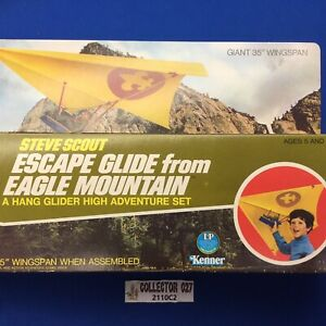 Boy Scout 1970s Steve Scout Escape From Eagle Mountain Hang Glider Adventure Set