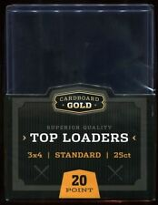 (25) 1 Pack Standard Top Loaders 3 x 4- Free Shipping With Any Other Purchase