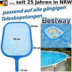 Pool Kescher Netz Reinigung Laubkescher Poolkescher Schwimmbad Whirlpool Käscher