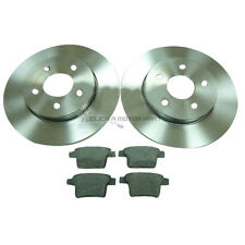 FORD MONDEO MK3 2.0 2.2 TDCi + ST 2005-2007 REAR 2 BRAKE DISCS AND PADS SET NEW