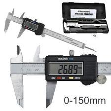 """6"""" Calibrador Calibre Digital Pie de Rey Precisión Pantalla LCD 150mm"""