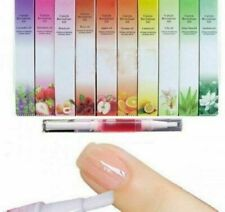 12pcs Mix Taste Cuticle Revitalizer Oil Pen Set Nail Care Treatment Manicure UK,