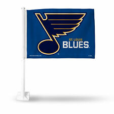 St Louis Blues NHL 11X14 Window Mount 2-Sided Car Flag