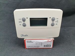 Danfoss FP715Si 2 Channel Central Heating/Hot Water 7 Day Programmer 087N789800
