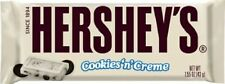 Hershey's Cookies n Cream Bar 43g, American White Chocolate Bar US Import