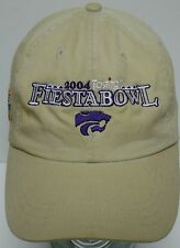 2004 TOSTITO Fiesta Bowl KANSAS K STATE WILDCATS FOOTBALL Baseball Hat Cap KSU