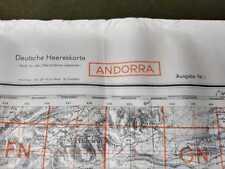 Andorra (25), carte seconde guerre, WW2