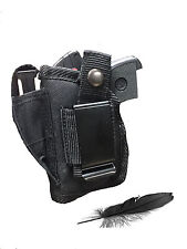 Concealed Nylon Gun Holster for Jimenez Arms JA-380 with Laser. For Hip or IWB