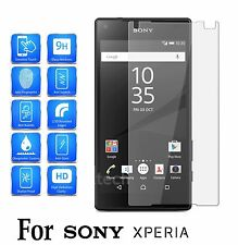 Tempered Glass Screen Protector Premium Protection For Xperia E4 (5 inch)