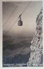 AK, Photo: Bad Reichenhall, Predigtstuhlbahn, Blick auf Groß Gmain, vor 1930