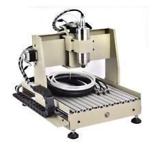3040 CNC Router 4 Axis Engraver Engraving Machine Ball Screw 800W+MACH3