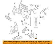 PORSCHE OEM 01-08 911 3.6L-H6 Engine-Crnkshft Pulley Bolt 90008208501