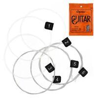 Orphee 6pcs / set Cuerdas para guitarra clasica serie de guitarra clasica E / LA