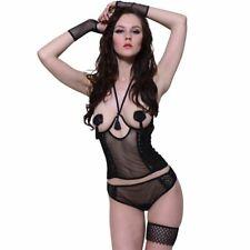Lingerieset Teddy 4 delig maat s/m sexy setje ondergoed erotisch cuploos
