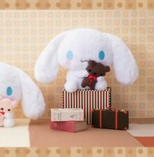 New FuRyu Sanrio Cinnamoroll with Brown Stuffed Plush Doll Soft Big Plush 30cm
