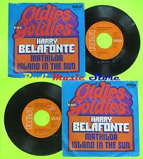 LP 45 7'' HARRY BELAFONTE Mathilda Island in the sun 1972 germany RCA cd mc dvd