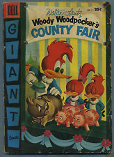 Woody Woodpecker's County Fair #5 1956 Walter Lantz Dell Giant s