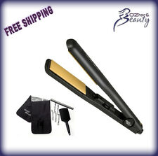 Silver Bullet Keratin 230 Wide Hair Straightener BONUS Clips, Mat, Brush, Comb