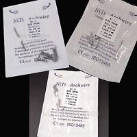 3pks Dia.012 (6mm+9m+12mm) Dental Ortho Closed Coil Spring  Niti Alloy 10pcs/pk