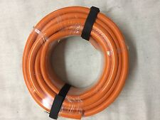 15 METRE ROLL ORANGE PLUMBERS NON KINK DRAIN DOWN HOSE  NEXT DAY DELIVERY