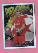 Erling Braut Haaland 2020 Finest Prized Footballer Rookie Insert Rare Read