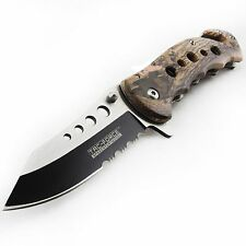 TAC FORCE HUNTING TACTICAL CAMO SPRING ASSISTED OPEN FOLDING Pocket Knife NEW