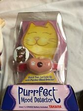 Takara Purrfect Mood Detector Cat Mood Detector Collar 2005- New Old Stock