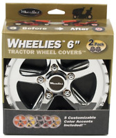 10-Inch Good Vibrations 180 2 Count Tractor Wheel Covers
